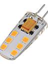 6W LED Bi-pin 조명 T 12 SMD 2835 200-300 lm 따뜻한 화이트 차가운 화이트 AC 12 V 1개