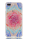 For iPhone 7Plus 7 TPU Material Lace Flowers Pattern Relief Phone Case 6s Plus 6Plus 6S 6 SE 5s 5