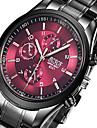Men sports Watches Business quartz-watch Men steel band waterproof Quartz Clock Auto Date Multifunction Watches