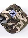 Chat Chien Bandanas & Chapeaux Vetements pour Chien Sportif camouflage Rayure Rouge/Blanc blanc / bleu Blanc/Rose Leopard