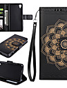 Case for SONY Xperia XP XA Case Cover The Mandala Pattern PU Leather Cases for Sony Xperia XA1 XA1 Ultra Z5