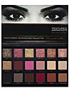 18 colors eye shadow Paleta de Sombras Secos Paleta da sombra Po Conjunto Maquiagem para o Dia A Dia