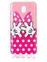 For Samsung Galaxy J7(2017) J5(2017) TPU Material Butterfly Fingers Pattern HD Phone Case J3(2017) J7 Prime J5 Prime