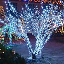 hesapli Cep Telefonu Süsleri-10m 6w 100-led cadılar bayramı festival dekorasyonu için beyaz ışık string lambası (110 / 220v)