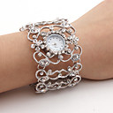 cheap Fruit & Vegetable Tools-Women's Luxury Watches Wrist Watch Diamond Watch Japanese Quartz Silver Casual Watch Analog Ladies Sparkle Bangle Fashion - Silver One Year Battery Life / SSUO SR626SW