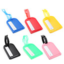 Buy Luggage Tag Anti Lost Reminder AccessoryYellow Red Green Blue Blushing Pink