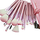 cheap Makeup & Nail Care-professional brush set with dark lovely pouch 22 pcs