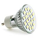 hesapli LED Spot Işıkları-3W 6000 lm GU10 LED Spot Işıkları MR16 21 led SMD 5050 Doğal Beyaz AC 220-240V