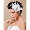 hesapli Saç Takıları-Tül Çiçek  -  Fascinators / Başlık 1pc Düğün / Özel Anlar Başlık