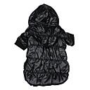 hesapli Ev Dekore Etme-Köpek Kapüşonlu Giyecekler Köpek Giyimi Solid Siyah / Kırmzı / Mavi Pamuk Kostüm Evcil hayvanlar için