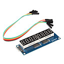cheap Diodes-8 x Seven-Segment Displays Module for (For Arduino) (595 Driver)