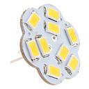 hesapli LED Bi-pin Işıklar-2.5 W 3000 lm G4 LED Bi-pin Işıklar 9 LED Boncuklar SMD 5630 Sıcak Beyaz 12 V