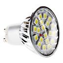 hesapli LED Spot Işıkları-6000lm GU10 LED Spot Işıkları MR16 20 LED Boncuklar SMD 5050 Doğal Beyaz 220-240V