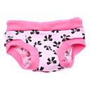 رخيصةأون أدوات الحمام-كلب بنطلونات ملابس الكلاب ببيونة زهري قطن كوستيوم من أجل ربيع & الصيف