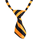 cheap Dog Clothing & Accessories-Cat Dog Tie/Bow Tie Dog Clothes White Orange Nylon Costume For Pets Wedding