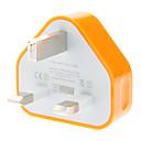 hesapli Ekran Modelleri-Ev Şarj Cihazı / Taşınabilir şarj USB Şarj Aleti UK Prizi 1 USB Bağlantı Noktası 1 A