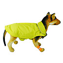 Недорогие Одежда и аксессуары для собак-Кошка Собака Плащи Жилет Одежда для собак Однотонный Оранжевый Желтый Розовый Красный Синий Нейлон Костюм Для домашних животных Муж. Жен.