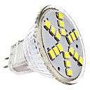 voordelige 2-pins LED-lampen-2W 6000 lm GU4 (MR11) LED-spotlampen MR11 18 leds SMD 2835 Koel wit AC 12V DC 12V