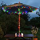 hesapli Makyaj ve Tırnak Bakımı-200-led 22 m güneş enerjisi renkli peri dize ışık lamba xmas parti düğün bahçe dekor