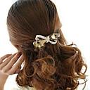 hesapli Saç Takıları-Kadın's Zarif Yapay Elmas alaşım Saç Klipsi - Çiçekli