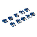 abordables Luces Interiores de Coche-10pcs Coche Bombillas 10-20 lm 1 LED Luces interiores For Universal