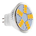 hesapli LED Spot Işıkları-BRELONG® 1pc 30 W 450 lm LED Spot Işıkları MR11 15 LED Boncuklar SMD 5630 Sıcak Beyaz 12 V
