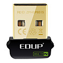EDUP EP-N8508GS IEEE802.11b/g/n 150Mbps Wireless USB Dongle adaptador de red