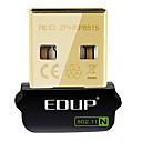 hesapli Güç Hattı Ağ Adaptörleri-EDUP EP-N8508GS IEEE802.11b/g/n 150Mbps USB Kablosuz Ağ Adaptörü Dongle