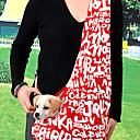 hesapli Makyaj ve Tırnak Bakımı-Mektuplar Desen Oxford Açık Paketi Messenger Evcil Köpekler için Çanta (Karışık Renkler, Boyutlar)