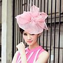 hesapli Saç Takıları-keten ve tül düğün / özel günlerinde / ilmek ile rahat şapkalar (daha fazla renk)