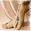 hesapli iPad Kılıfları/Kapakları-Ayak bileziği Barefoot Sandalet - Çapa Gümüş / Bronz / Altın Uyumluluk Günlük Kadın's