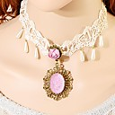 Buy White Choker Necklaces / Collar Statement Vintage Lace Wedding Party Jewelry