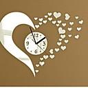 preiswerte Uhren-Modern / Zeitgenössisch Acryl Kreisförmig Spiegel Wandsticker