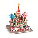 billige T-shirts og undertrøjer til herrer-den Vasilij-katedralen 3d puslespil DIY legetøj for børn og voksne puslespil (39pcs)