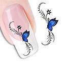 ieftine Decal De Transfer De Apă-1 Nail Art autocolant Aplicația de transfer de apă Floare Nuntă machiaj cosmetice Nail Art Design