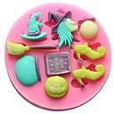 hesapli Fırın Araçları ve Gereçleri-Bakeware araçları Silikon Çevre-dostu / Kendin-Yap Kek / Kurabiye / Çikolota Pişirme Kalıp 1pc