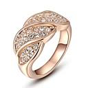 preiswerte Radlichter-Damen Statement-Ring - Krystall, vergoldet Modisch 6 / 7 / 8 Silber / Golden Für Hochzeit Party Verlobung