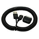 hesapli Makyaj ve Tırnak Bakımı-Micro USB 2.0 / USB 2.0 İçeri Çekilebilir Kablo için Uyumluluk TPU / Plastik