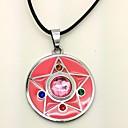 preiswerte Wanddekoration-Schmuck Inspiriert von Sailor Moon Cosplay Anime Cosplay Accessoires Halsketten PU-Leder / Aleación Damen neu Halloween Kostüme