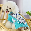 cheap Dog Clothing & Accessories-Winter Wedding / Cosplay Cotton / Polar Fleece Coats for Dogs / Cats Red / Blue XS / S / M / L / XL
