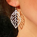 cheap Earrings-Women's Drop Earrings - Leaf Vintage, Party, Casual Gold / Silver For Party / Daily