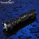 cheap Lanterns & Tent Lights-Tank007 PT10 T6 LED Flashlights / Torch Handheld Flashlights / Torch LED Cree® XM-L T6 1 Emitters 500 lm 5 Mode Tactical Waterproof Impact Resistant Camping / Hiking / Caving Everyday Use Police