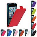 hesapli Fırın Araçları ve Gereçleri-Pouzdro Uyumluluk iPhone 5C Apple Tam Kaplama Kılıf Sert PU Deri için iPhone 5c