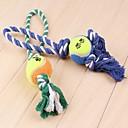 hesapli Köpek Oyuncakları-Köpek Oyuncağı Evcil Hayvan Oyuncakları Çiğneme Oyuncağı İnteraktif İp Tekstil Evcil hayvanlar için