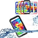 baratos KITS Faça-Você-Mesmo-Capinha Para Samsung Galaxy Samsung Galaxy Capinhas Impermeável Transparente Capa Proteção Completa Côr Sólida PC para S5 S4 S3