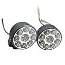 hesapli Diğer LED Işıkları-2pcs Araba Ampul 4W SMD LED 9 Güzdüz Çalışma Işığı