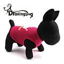 hesapli Boncuklar ve Takı Yapımı-Kedi / Köpek Tişört Köpek Giyimi Tiaralar ve Taçlar Gül / Pembe Terylene Kostüm Evcil hayvanlar için