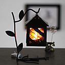 رخيصةأون Home Fragrances-النمط الأوروبي الكلاسيكي الزجاج الفن الحديد شمعة حامل الإبداعية بأوراق