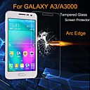 Χαμηλού Κόστους Προστατευτικά οθόνης για Samsung-Προστατευτικό οθόνης Samsung Galaxy για A3 Σκληρυμένο Γυαλί Προστατευτικό μπροστινής οθόνης Σούπερ Λεπτό