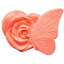 hesapli Fırın Araçları ve Gereçleri-kelebek çiçek kek çikolata silikon kalıp kek dekorasyon araçları fondant, l9.5cm * w7.5cm * h4.3cm